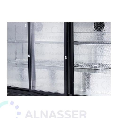 ثلاجة-باك-بار-أسود-أبواب-مصانع-الناصر-back-bar-refrigerator-alnasser-factories-close