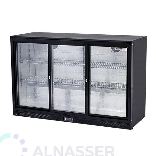 ثلاجة-باك-بار-أسود-أمام-مصانع-الناصر-back-bar-refrigerator-alnasser-factories