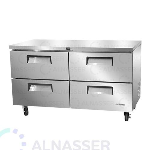 ثلاجة-تخزين-أفقية-4ادراج-أمام-undercounter-refrigerator-4drawers-alnasser-factories