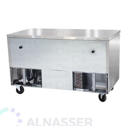 ثلاجة-تخزين-أفقية-4ادراج-خلف-undercounter-refrigerator-4drawers-alnasser-factories