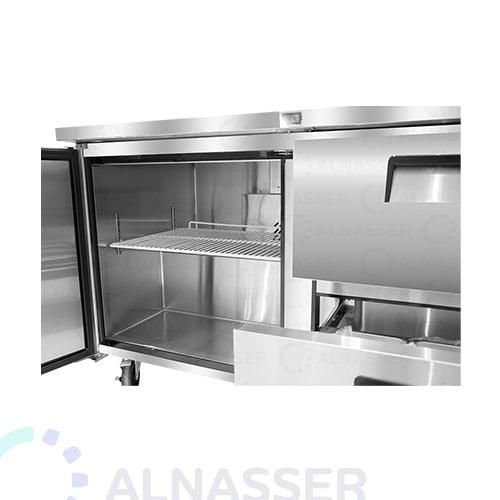 ثلاجة-تخزين أفقي-باب-مصانع-الناصر- undercounter-door-refrigerator-drawers-alnasser-factories