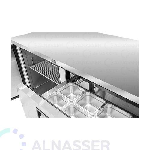 ثلاجة-تخزين أفقي--صحون-مصانع-الناصر-undercounter-door-refrigerator-drawers-alnasser-factories