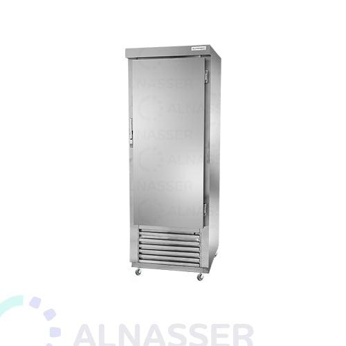 ثلاجة-تخزين-عامودية-باب-واحد-مقفل-upright-stainless-steel-fridge-refrigerator-close-alnasser-factories
