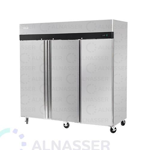 ثلاجة-تخزين-عامودية-وطني-upright-stainless-steel-fridge-refrigerator-alnasser-factories