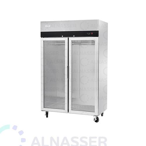 ثلاجة-عرض-لحوم-بابين-تعليق-أمام-مصانع-الناصر-meat-Display Refrigerator Meat-alnasser-factories