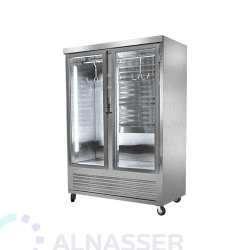 ثلاجة-عرض-لحوم-بابين-تعليق-مصانع-الناصر-Display Refrigerator Meat refrigerator-alnasser-factories