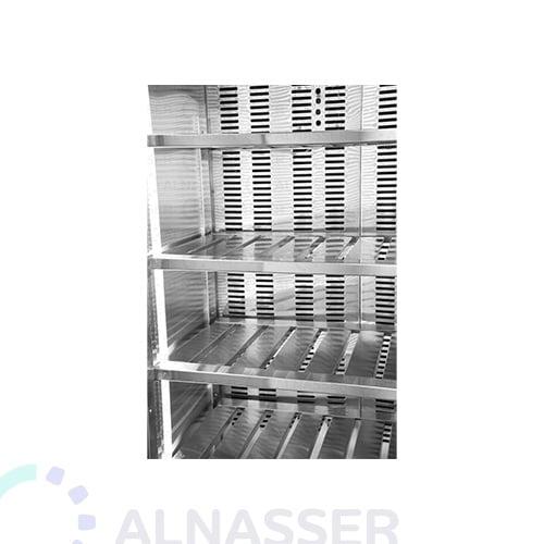 ثلاجة-عرض-لحوم-باب-واحد-مصانع-الناصر-5أرفف-Display Refrigerator Meat-close-5Shelves-alnasser-factories