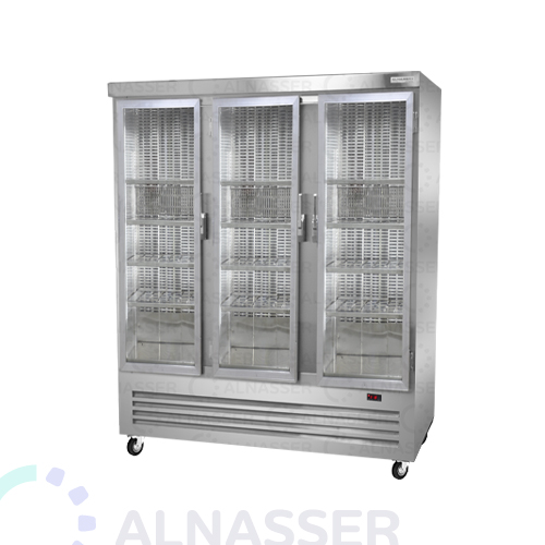 ثلاجة-عرض-لحوم-3أبواب-أرفف-مصانع-الناصر-meat-display refrigerator-close-alnasser-factories