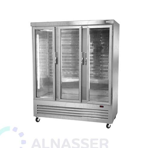 ثلاجة-عرض-لحوم-3أبواب-مصانع-الناصر-Display Refrigerator Meat-close-alnasser-factories