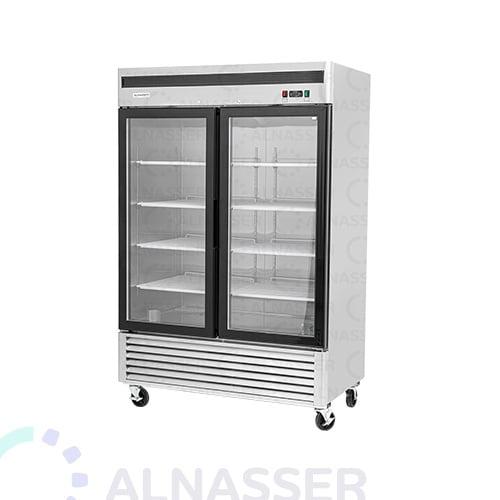 ثلاجة-عرض-5أرفف-بابين-أمام-عامودية-باب-زجاج-مصانع-الناصر-UPRIGHT-DISPLAY-CHILLER-refrigerator-alnasser-factories