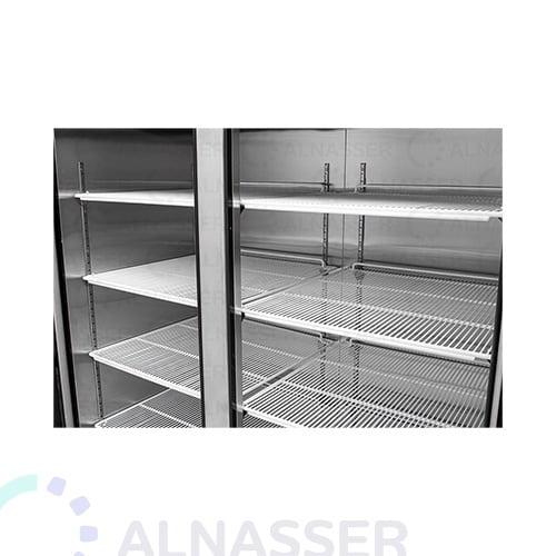 ثلاجة-عرض-5أرفف-بابين-عامودية-باب-زجاج-مصانع-الناصر-UPRIGHT-DISPLAY-CHILLER-refrigerator-close-alnasser-factories
