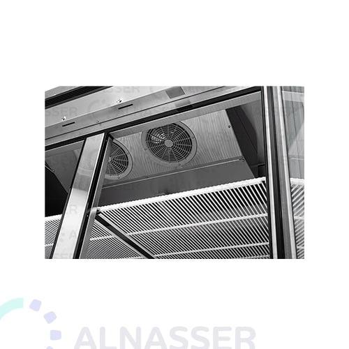 ثلاجة-عرض-5أرفف-بابين-مراوح-عامودية-باب-زجاج-مصانع-الناصر-PRIGHT-DISPLAY-CHILLER-refrigerator-close-alnasser-factories