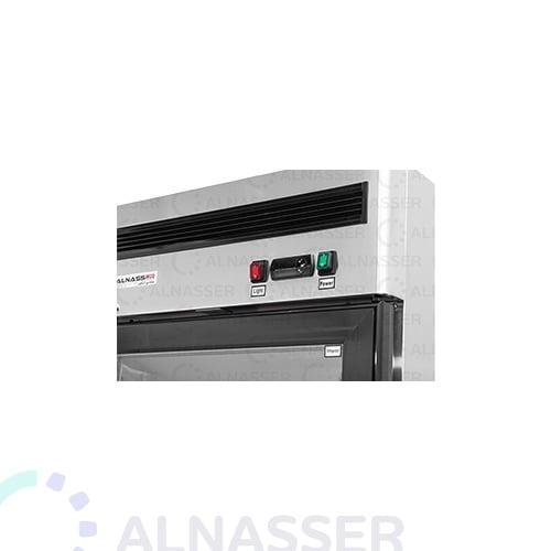 ثلاجة-عرض-5أرفف-باب-واحد-لوحة-تحكم-عامودية-مصانع-الناصر-باب-زجاج-UPRIGHT-DISPLAY-CHILLER-refrigerator-alnasser-factories