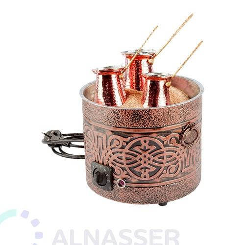 سخان-قهوة-دائري-رمل-كهرباء-مصانع-الناصر-coffee-warmer-with-sand-alnasser-factories