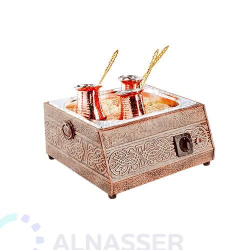 سخان-قهوة-رمل-نحاس-كهرباء-مصانع-الناصر-coffee-warmer-with-sand-alnasser-factories