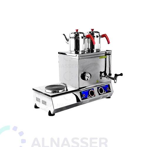 سماور-بدون-طباخ-2أباريق-مع-طباخ-مصانع-الناصر-tea-steamer-alnasser-factories