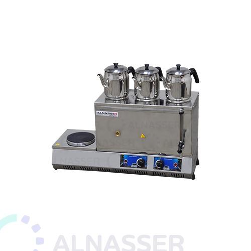 سماور-مع-طباخ-3أباريق-مصانع-الناصر-tea-steamer-alnasser-factories