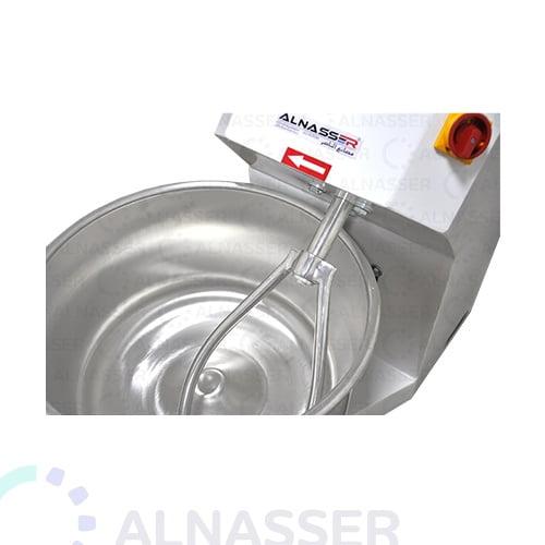 عجانة-تركي-bowl-mixer-machine-10kg-close-alnasser-factories