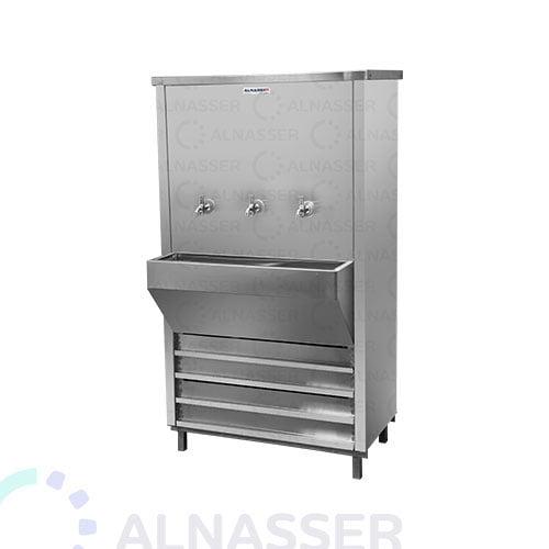 مبرد-مياة-ستيل-3-حنفيات-مصانع-الناصر-alnasser-factories-water-cooler-3-taps
