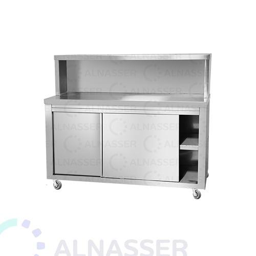 خزانة-أرضية-مصانع-الناصر-بابين-بكاونتر-floor cabinet-alnasser-factories-