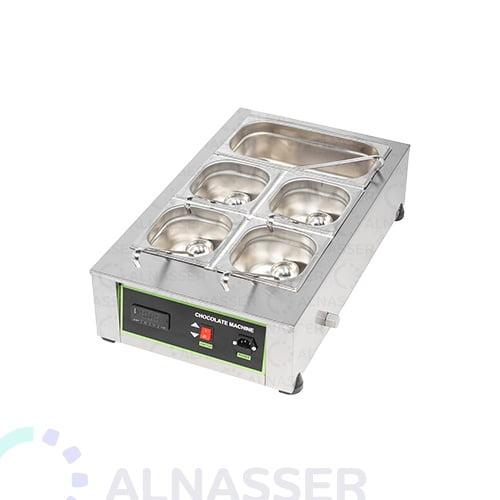 سخان-شوكلاتة-5صحون-مصانع-الناصر-chocolate-heater-close-alnasser-factories