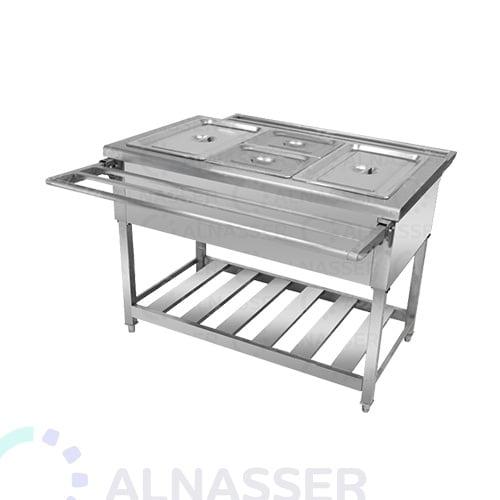 سخان-طعام-بقاعدة-ورف-خدمة-food-heater-alnasser-factories