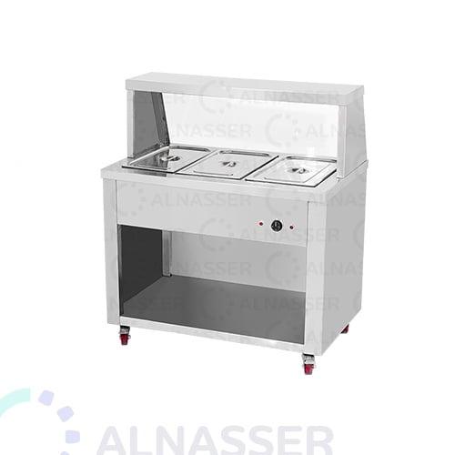 سخان-طعام-بقاعدة-3صحون-خلف-مصانع-الناصر-food-heater-alnasser-factories