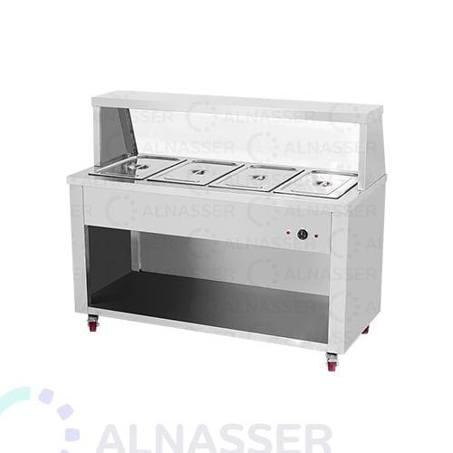سخان-طعام-بقاعدة-4صحون-خلف-مصانع-الناصر-food-heater-alnasser-factories