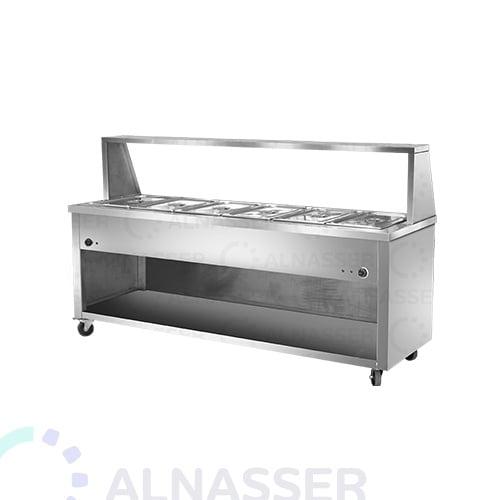 سخان-طعام-بقاعدة-6صحون-خلف-مصانع-الناصر-food-heater-alnasser-factories