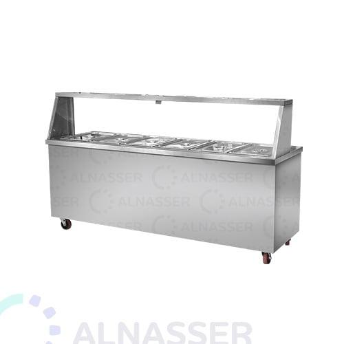سخان-طعام-بقاعدة-6صحون-مصانع-الناصر-food-heater-alnasser-factories