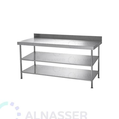 طاولة-تحضير-3أرفف-مصانع-الناصر-display -table-alnasser-factories