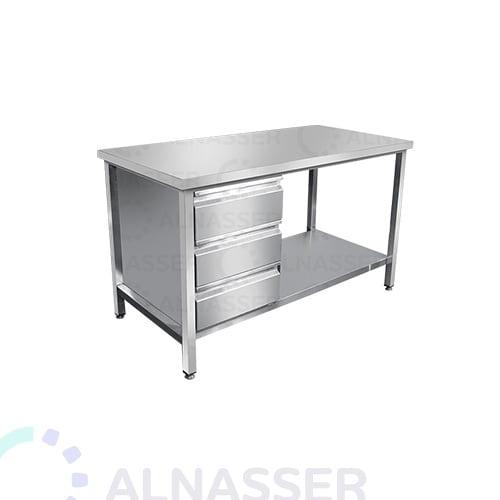 طاولة-خدمة-3أدراج-مصانع-الناصر-service-table-alnasser-factories