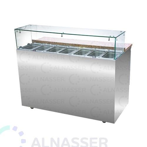 ثلاجة-تحضير-بيتزا-رخام-صيني-close-pizza-display-3dors-refrigerator-alnasser-factories