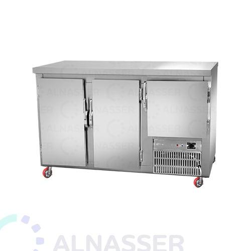 ثلاجة-عصائر-ستانلس-ستيل-Undercounter-Refrigerator-alnasser-factories