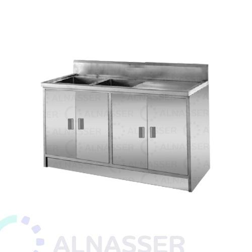 مغسلة-حوضين-مجلى-4أبواب-خزانة-مصانع-الناصر-sink-alnasser-factories