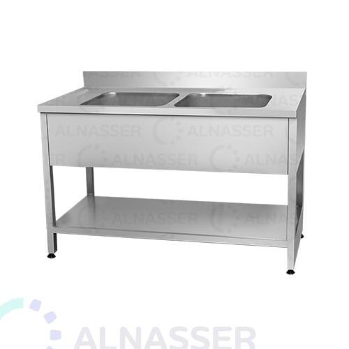 مغسلة-حوضين-مصانع-الناصر-sink-alnasser-factories