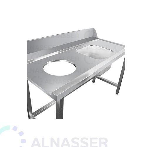 مغسلة-مع-مرمى-نفايات-مصانع-الناصر-sink-alnasser-factories