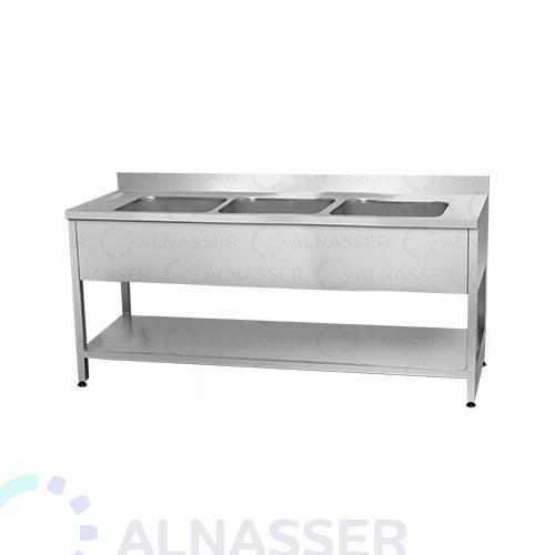 مغسلة-3أحواض-مصانع-الناصر-sink-alnasser-factories