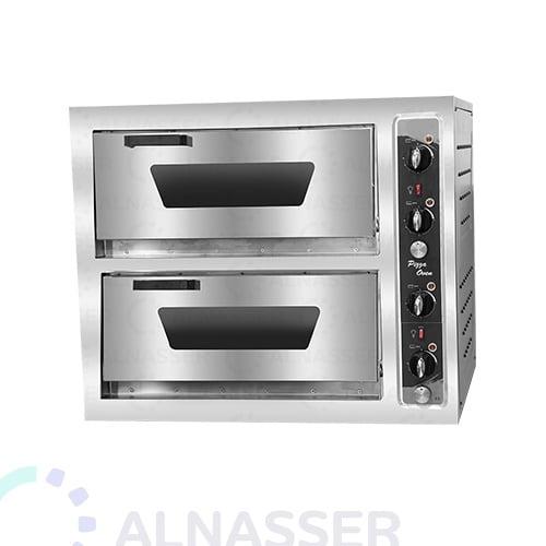 فرن-كهربائي-للبيتزاوالمعجنات-طابقين-تركي-electrician-oven-alnasser-factories