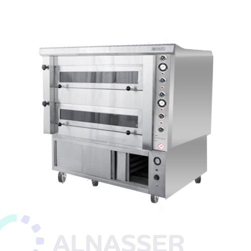 فرن-كهربائي-للبيتزاوالمعجنات-مع-خمار-طابقين-electrician-oven-alnasser-factories