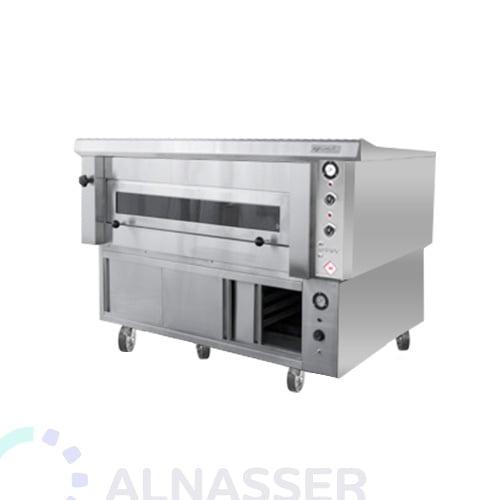 فرن-كهربائي-للبيتزاوالمعجنات-مع-خمار-طابق-electrician-oven-alnasser-factories