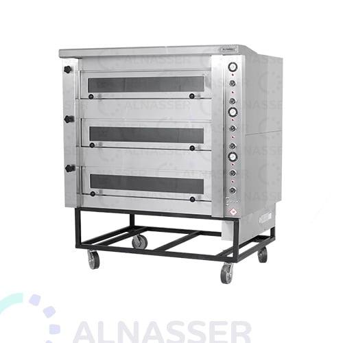 فرن-كهربائي-للبيتزاوالمعجنات-3طوابق-electrician-oven-alnasser-factories