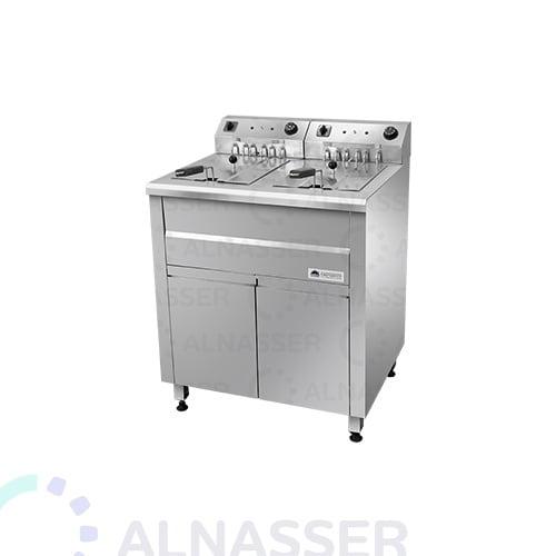 قلاية-بطاطس-مزدوجة-بخزانة-مصانع-الناصر-french-fries-fryer-alnasser-factories-