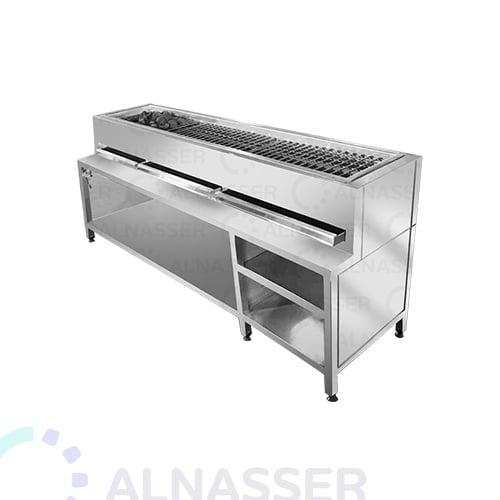 مشوى-كباب-فحم-حجري-مصانع-الناصر-kebab grill-alnasser-factories