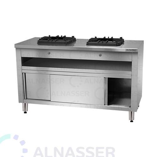 موقد-غاز-بدولاب-شعلتين-مصانع-الناصر-gas-stove-alnasser-factories