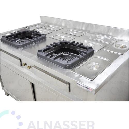 موقد-غاز-بدولاب-صحون-شعلتين-مصانع-الناصر-gas-stove-close-alnasser-factories