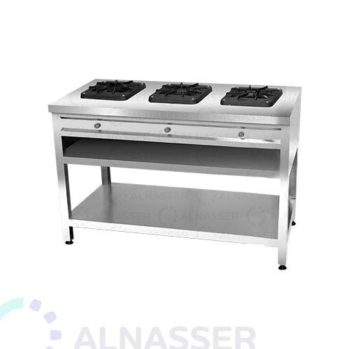 موقد-غاز-بقاعدة-3-شعلات-مصانع-الناصر-gas-stove-alnasser-factories