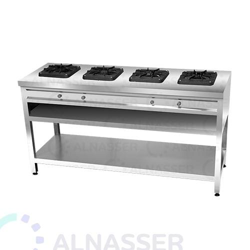 موقد-غاز-بقاعدة-4-شعلات-مصانع-الناصر-gas-stove-alnasser-factories