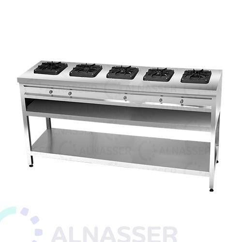 موقد-غاز-بقاعدة-5-شعلات-مصانع-الناصر-gas-stove-alnasser-factories