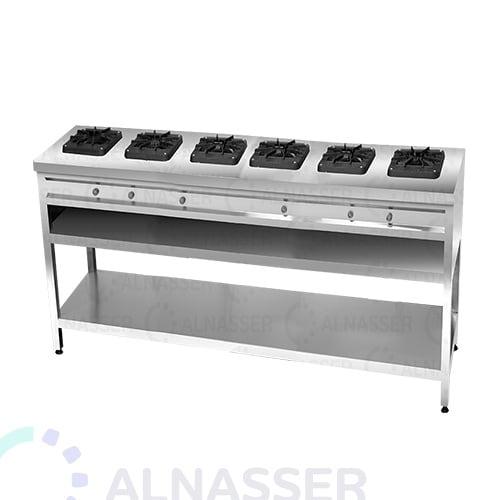 موقد-غاز-بقاعدة-6-شعلات-مصانع-الناصر-gas-stove-alnasser-factories
